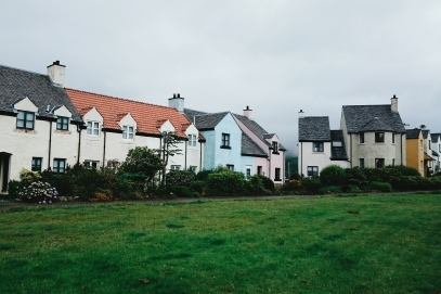 The idyllic holiday village of Craobh Haven